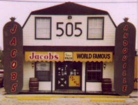 Jacob's World Famous Andouille & Sausage, 505 West Airline Hwy., LaPlace LA