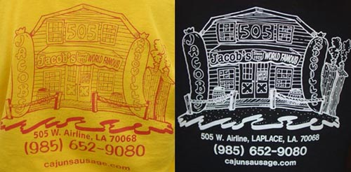 Jacob's Andouille T-Shirts